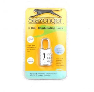 Slazenger Security Lock With A Secret Number For Bags And Lockers  7da5f82167d