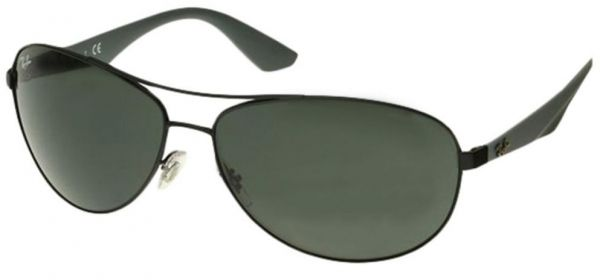 ray ban pilot sunglasses price  Ray Ban Aviator Sunglasses for Men - Green Lens, RB3526-006/7163 ...