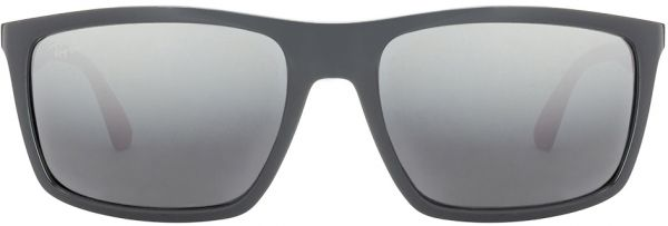 a356523567 Ray Ban Rectangle Sunglasses for Unisex - Silver Mirror Lens
