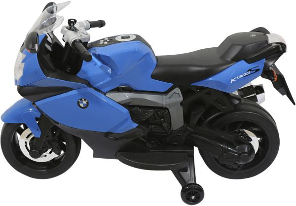 Electric BMW Motorcycle for Kids , Blue , DG-283