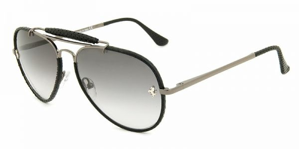 en ferrari green hexagonal aviator sunglasses gradient black collection ban scuderia ray blue
