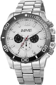 1f5c7ff38b851 August Steiner Bracelet Men s White Dial Stainless Steel Band Watch -  AS8113SS