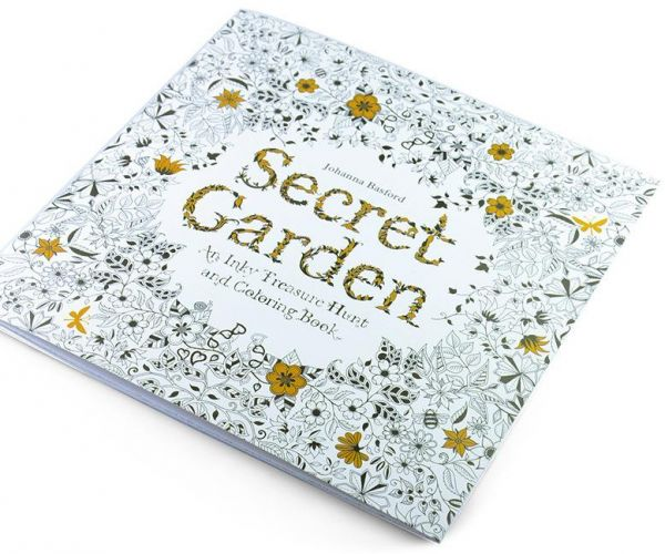MINI Secret Garden Coloring Books16 Pages Price Review And Buy