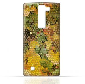 LG Magna TPU Silicone Case with Stained Glass Art
