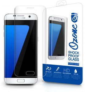 Ozone Samsung Galaxy S7 Edge Shock Proof Tempered Glass Screen Protector