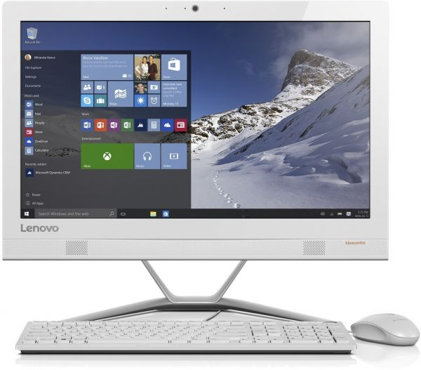Lenovo IdeaCentre AIO 300 All-in-One Desktop -Intel Core i3-6006U, 23 Inch,  1TB, 4GB, Windows 10, White
