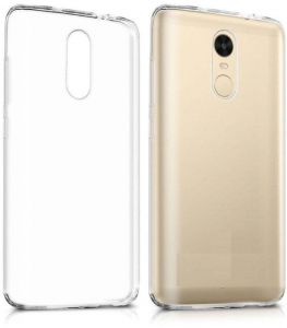 xiaomi redmi note 4 & 4X silicon transparent Back Cover