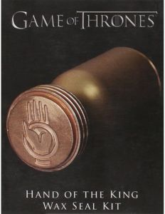 Game Of Thrones Hand The King Wax Seal Kit
