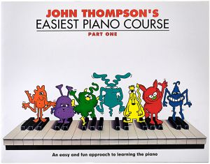 Easiest Piano Course: Part 1 by John Thompson - Paperback