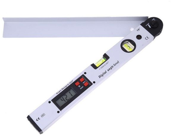 400mm Digital Protractor 0 225 Degree Electronic Angle Dual Spirit Level Measure Gauge Ruler For Measuring Tool