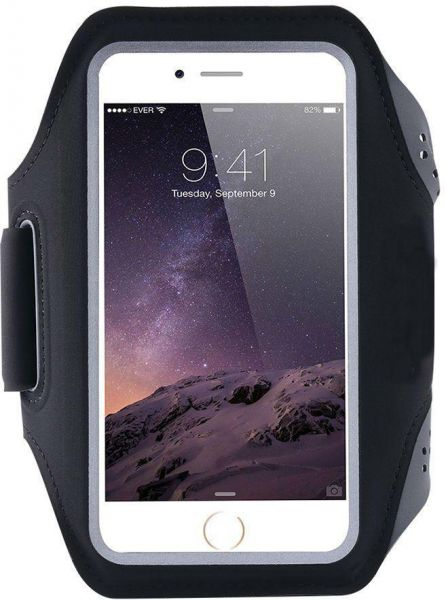 Universal Sports Running Jogging Gym Armband Arm Band Case Cover for iPhone  7 Plus 5 5 inch Black