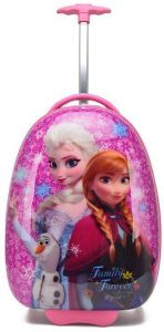 Frozen Princess Elsa and Anna School Trolley Bag for 3 - 8 Ages Kids 8421a6f5d5309