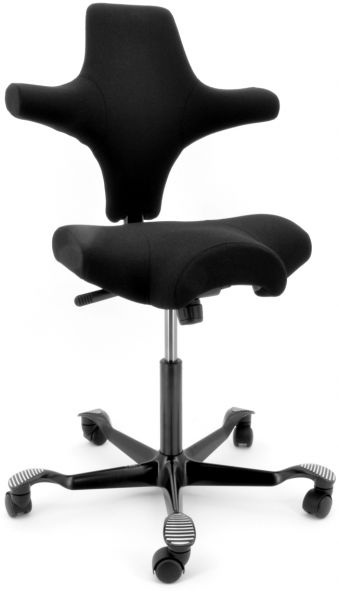 HAG Capisco Nexus Fabric Task Chair Black  sc 1 st  Souq.com & Souq | HAG Capisco Nexus Fabric Task Chair Black | UAE
