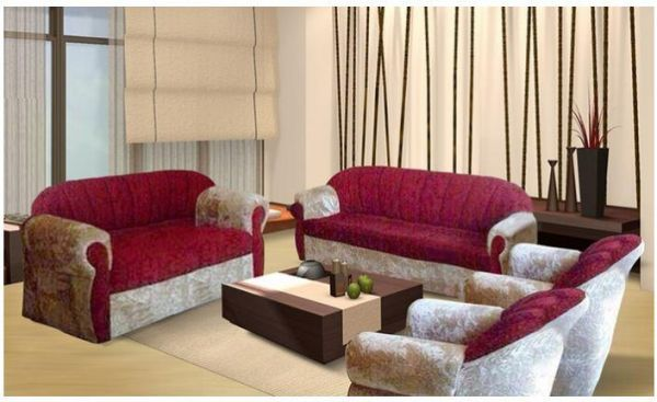 Royal 4 Piece Modern Living Room Sofa Set Classic Creamred Souq