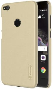 NILLKIN FROSTED BACK COVER FOR HUAWEI P8 LITE SCREEN PROTECTOR INCLUDED) GOLD