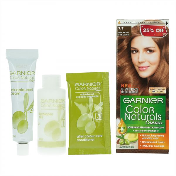 Garnier Natural Black Hair Color Side Effects