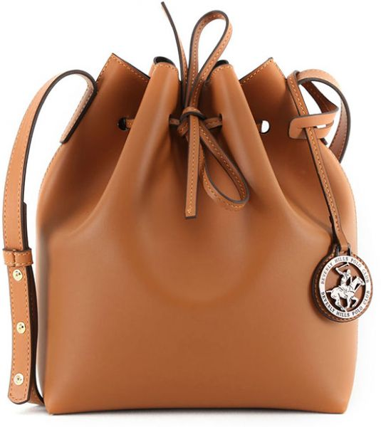 Beverly Hills Polo Club Bucket Bag For Women Tan