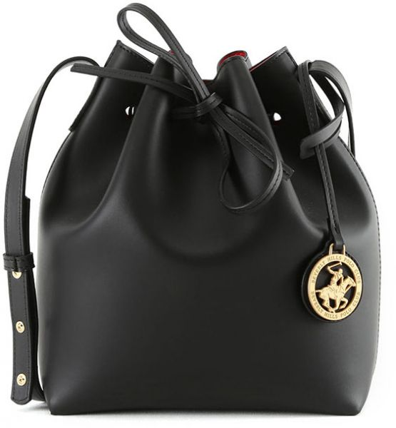 Beverly Hills Polo Club Bucket Bag For Women Black