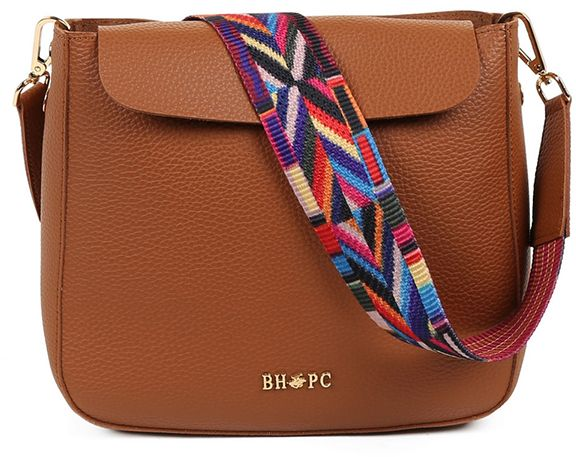 Beverly Hills Polo Club Crossbody Bag For Women Tan