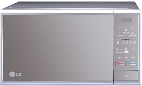 Lg 30 Liter Grill With Quartz Microwave Oven Silver Mh7040ss