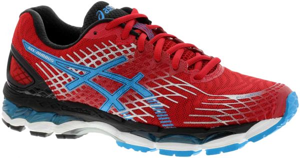 Asics Red Running Shoe For Men