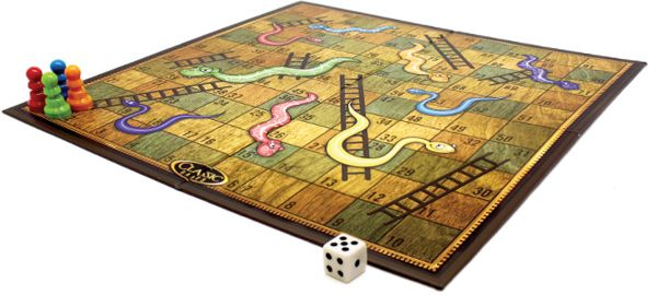 TCG Board Classic Games - Snakes and Ladders