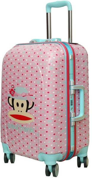 buy discovery travel luggage trolley bag for kids paul frank pky2116b pink trolley. Black Bedroom Furniture Sets. Home Design Ideas