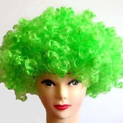 Green Explosion wig Clown funny props exaggerated performance wig hair sets  Kids Adult Party Funny Show  63049a66da7e