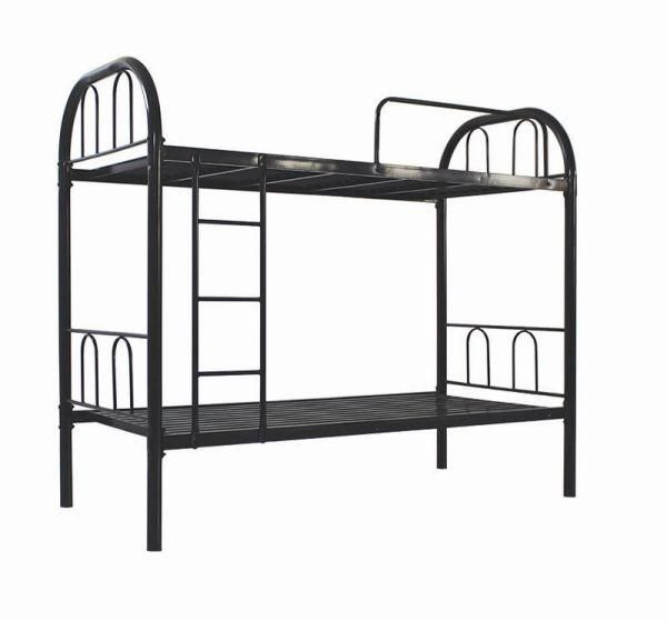 bunk bed full metal single size 90 x 190 price review and buy in dubai abu dhabi and rest. Black Bedroom Furniture Sets. Home Design Ideas