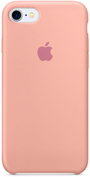 low priced 919f2 d5201 Apple iPhone 7 Silicon Back Cover Case, Pink Sand, MMX12ZMA (Apple Phone  not included)