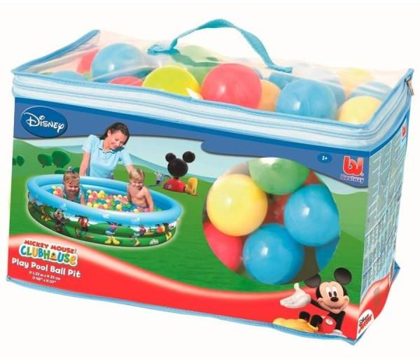 Bestway Mickey Mouse Club House Ball Pit Toy For Kids with Soft Balls  sc 1 st  Souq.com & Bestway Mickey Mouse Club House Ball Pit Toy For Kids with Soft ...