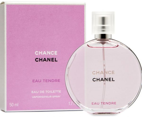 Chance Eau Tendre By Chanel For Women Eau De Toilette 50 Ml
