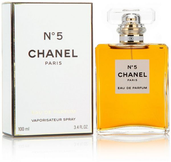 chanel n 5 by chanel for women eau de parfum 100 ml. Black Bedroom Furniture Sets. Home Design Ideas