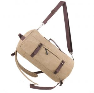 9421499a235e Men s Canvas Fashion Travel Luggage Sport Tote Duffel Bag Oversized Backpack