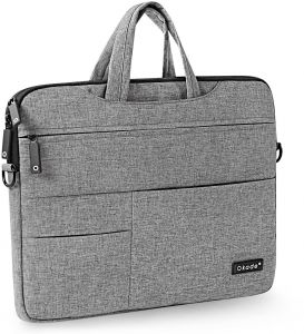 Laptop Sleeve Cover Case Carry Shoulder Messager Bag Pouch Storage For Macbook Pro 13 3 Inch Grey
