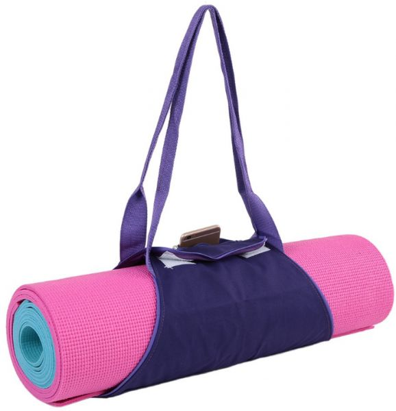 b72372575c95 Yoga Mat Carrier Exercise Yoga Mat Bag with Multi-Functional Storage  Pockets