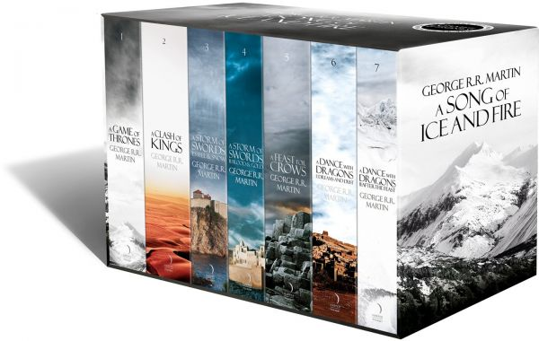 the complete box set of books a song of ice and fire price  the complete box set of 7 books a song of ice and fire 7 reviews