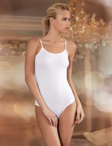 6920998590d6f Sahinler Spaghetti Strap Bodysuit For Women