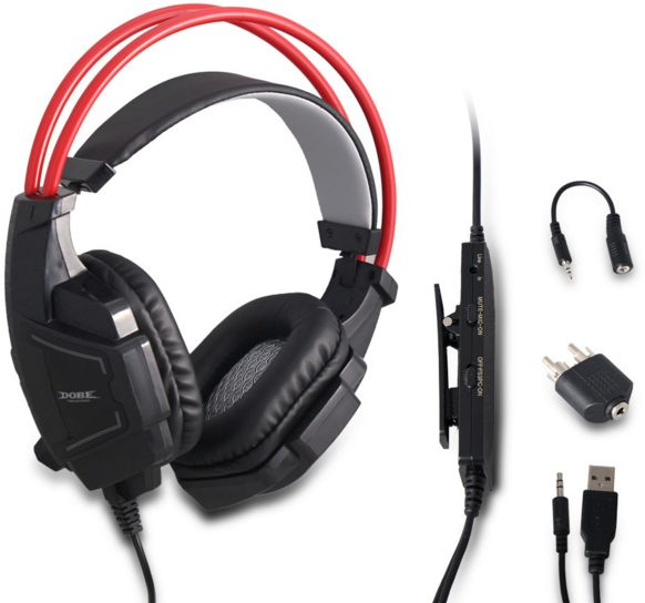 Game Accessories Headphone with Mic for PlayStation 4/Slim/Pro PlayStation  3 XBox 360 XBox One (S)/PC Multi-Functional Headset