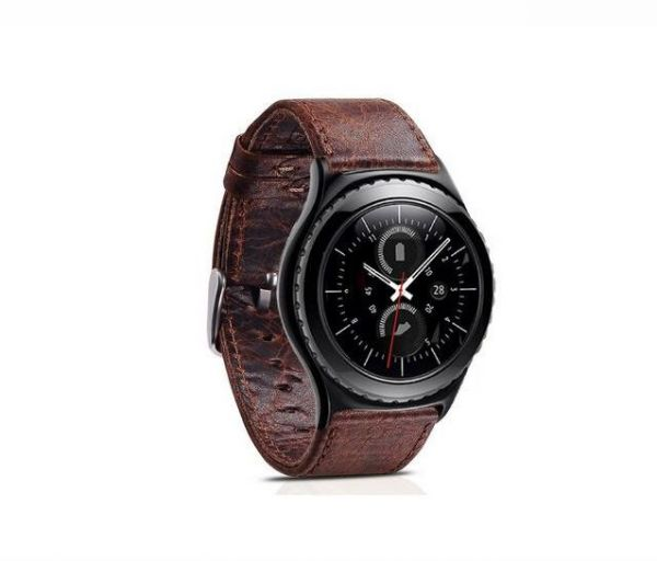 leather replacement strap for samsung gear s3 frontier watch band bracelet belt souq uae