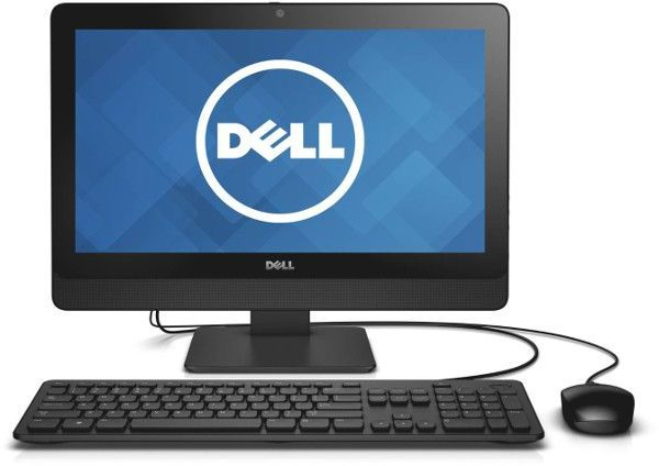 Dell Inspiron 3064 All-in-One Desktop - Intel Core i3-7100, 19.5 Inch  Touch, 1TB, 4GB, Win 10, Black
