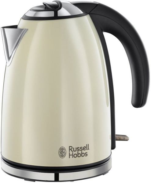 russell hobbs classic colors cream kettle 18943 price review and buy in dubai abu dhabi and. Black Bedroom Furniture Sets. Home Design Ideas