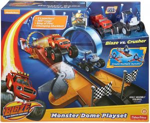 Fisher Price Nickelodeon Blaze And The Monster Machines Dome Play Set