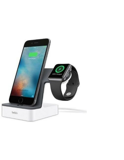 Belkin Valet Charge Dock White for iPhone & Apple Watch