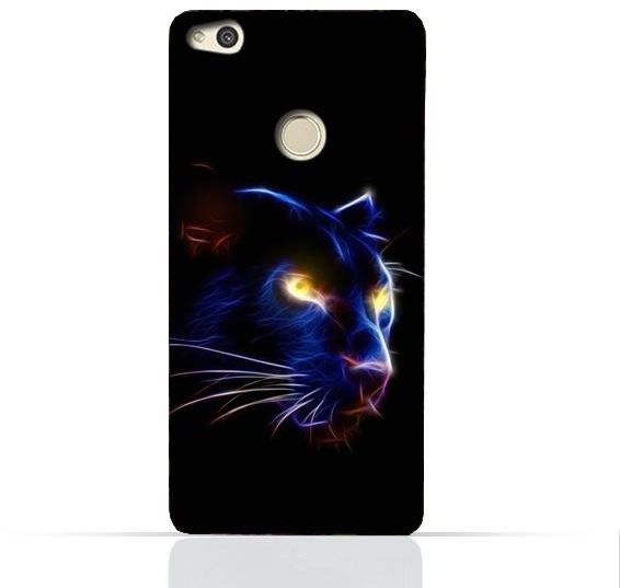 Huawei P8 Lite 2017 / Huawei P9 Lite 2017 / Huawei Honor 8 Lite / Huawei  Nova Lite / Huawei GR3 2017 TPU Silicone Case with Panther Eye Design