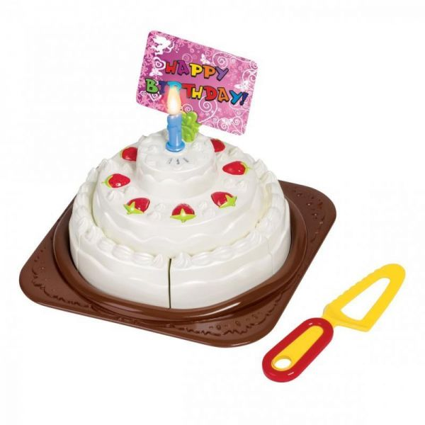 Souq Birthday Cake Pretend Play Battery Operated Toy Set For Kids