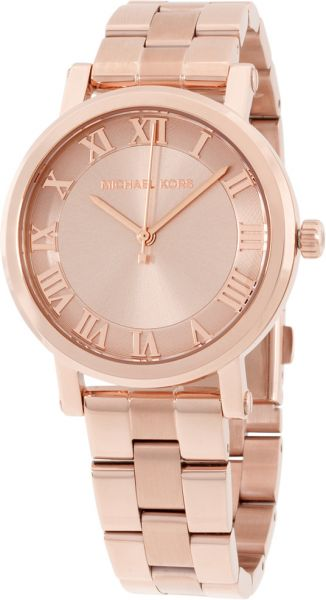 65d79247db84 Michael Kors Norie Women s Rose Gold Dial Stainless Steel Band Watch -  MK3561. by Michael Kors