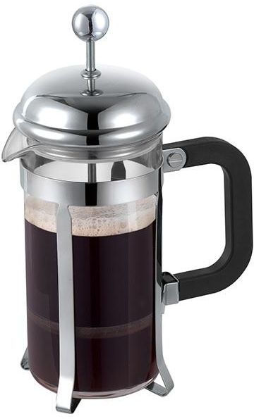 Coffee Press With Stainless Steel Chrome Plated Plunger