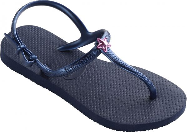 23a98228586e7d Havaianas Navy Blue Flip Flops Slipper For Girls