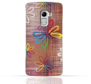 Lenovo Vibe K4 Note / A7010 / Lenovo Vibe X3 Lite TPU Silicone Case With Rainbow Butterfly Pattern Design.